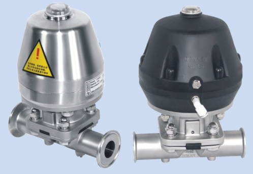 Pneumatic diaphragm valve 1 Pneumatic diaphragm valve