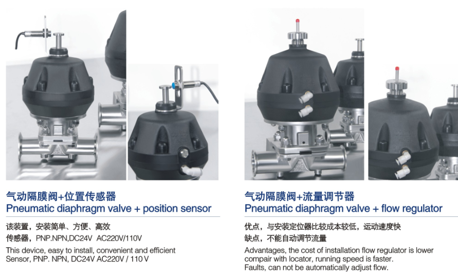 Pneumatic diaphragm valve 3 Pneumatic diaphragm valve