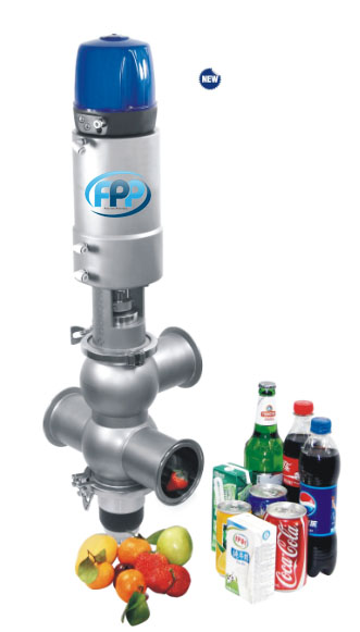 Double seat valves 1 จำหน่าย Double seat valves/Mixproof valve