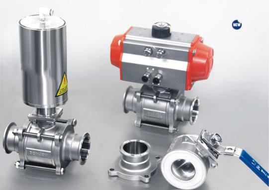 Pneumatic ball valve 11 Pneumatic Ball Valve  นิวเมตริกบอลวาล์ว