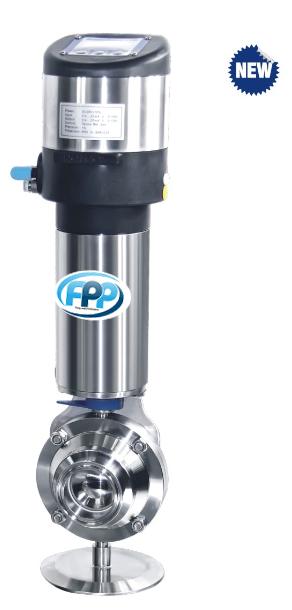 Process controller + ball valve 2 จำหน่าย Process controller + ball valve